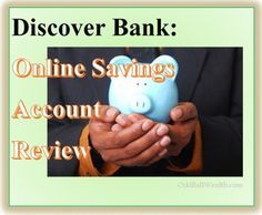 Discover Bank – Online Savings Account Review. High yield rates. High interest rate savings accounts. /search/?q=%23banking&rs=hashtag /search/?q=%23onlinebanking&rs=hashtag /search/?q=%23savingsaccount&rs=hashtag