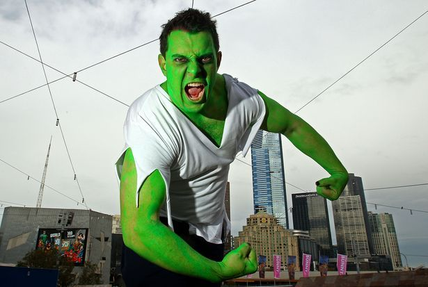 How to Make an Incredible Hulk Costume thumbnail