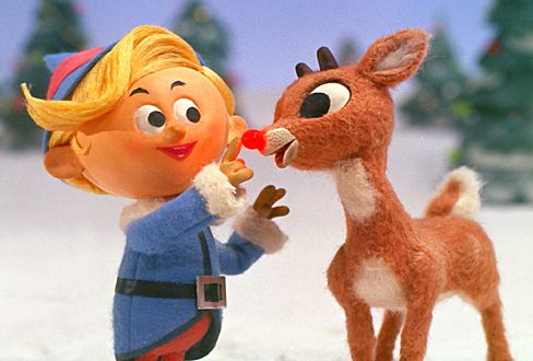 Hermie and Rudolph.  Will never forget the memories of watching this cuddled up on the couch with my mom - fire going.  Still watch this when it comes on every year.