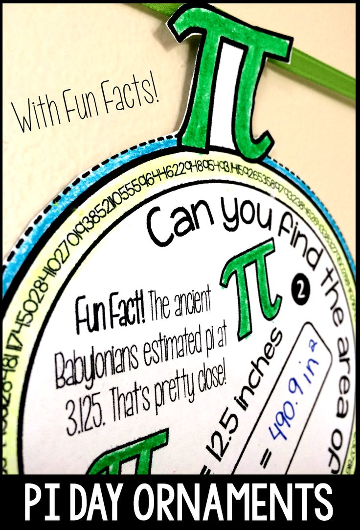 It's almost Pi Day! Here are some fun Pi Day ornaments (and 2 other fun Pu Day math crafts)