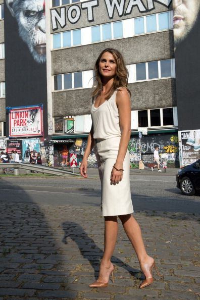 Keri Russell at the Dawn of the Planet of the Apes Berlin Photocall