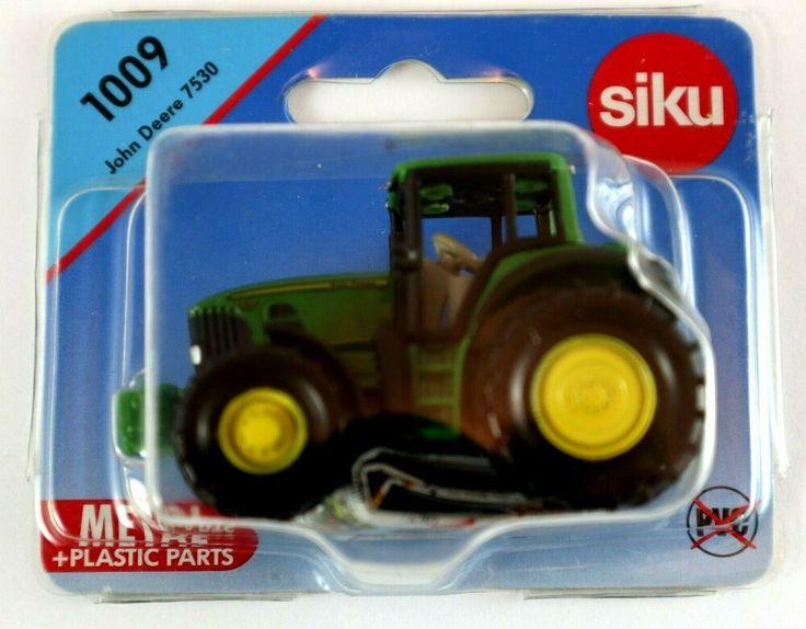 Siku 1009 JOHN DEERE 7530 Green TRACTOR Diecast Metal