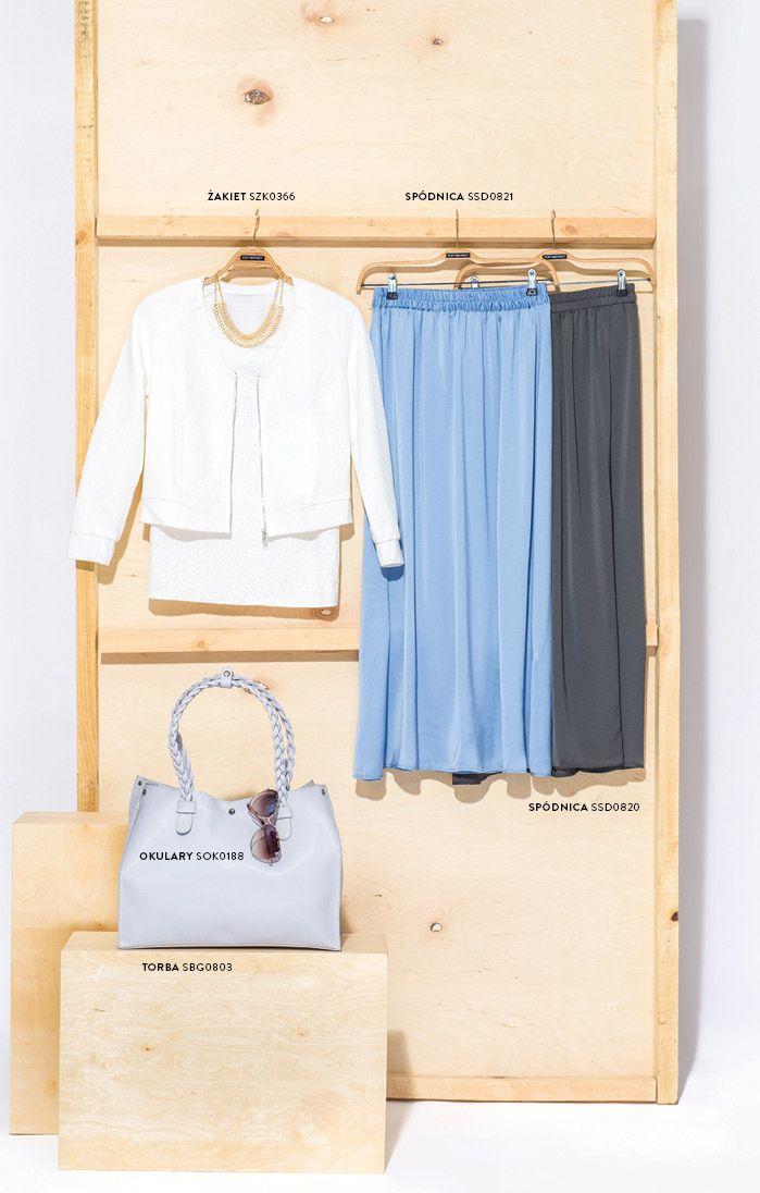 Długa spódnica maxi i torba #kuferek #topsecret