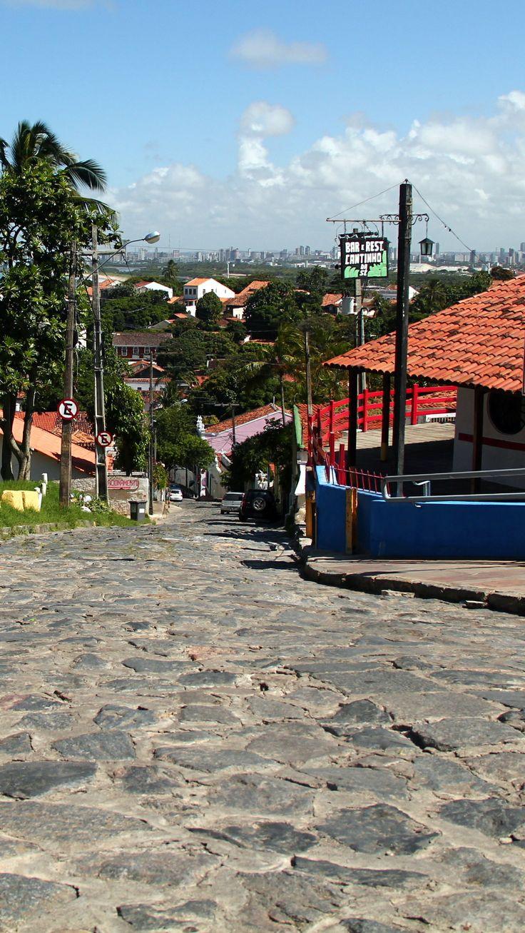 Ladeira da Misericórdia, descida do alto da Sé em Olinda.