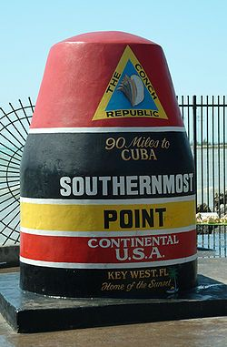 Southern Most Point Continental U.S.A.  I wanna go here!