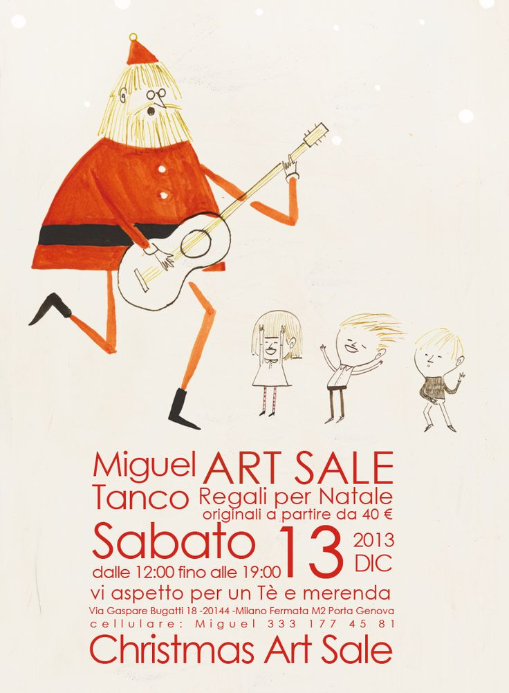 Art Sale- Regali per Natale 13 Dic