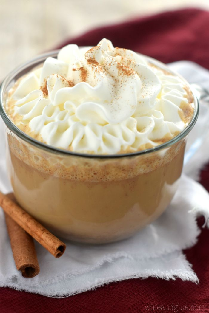This Eggnog Latte comes together so easily and makes you feel like a genius barista!