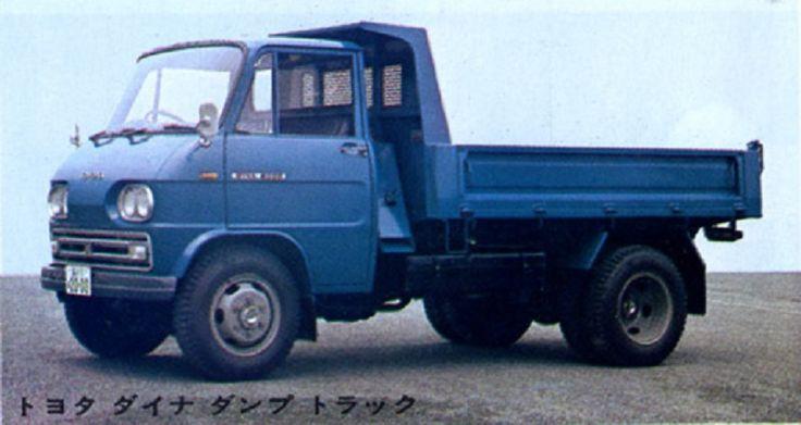 Toyota Dyna RK170 Dump Truck