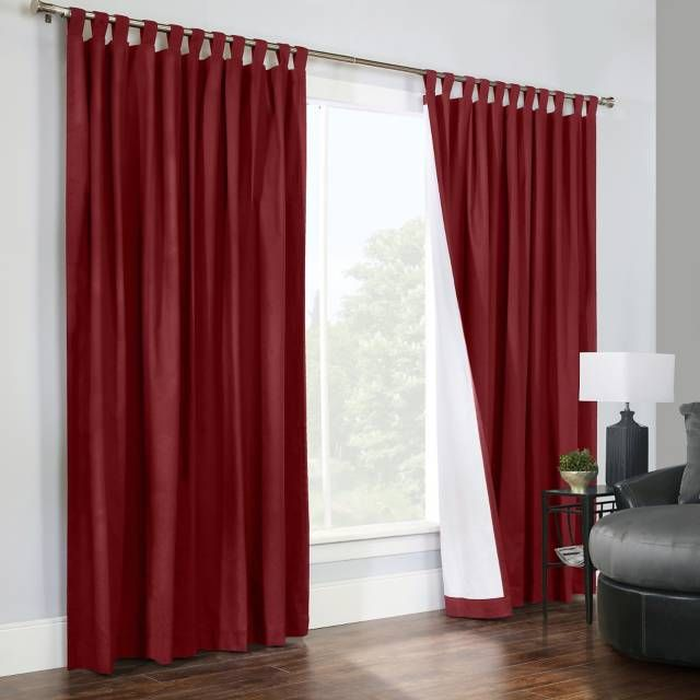 product image for Thermalogic® Weathermate 84-Inch Double-Wide Tab Top Window Curtain Panel Pair