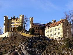 Mad King Ludwig's Castle in Fussen, Germany: Maximilian Ii, Hohenschwangau Castles, Ludwig Ii, Southern Germany, German Village, Places I D, Bavaria Germany, Royal Resident, King Ludwig