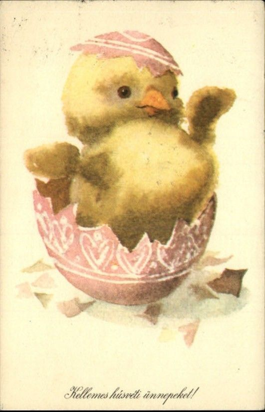 Best Vintage Easter Cards Images On   Vintage