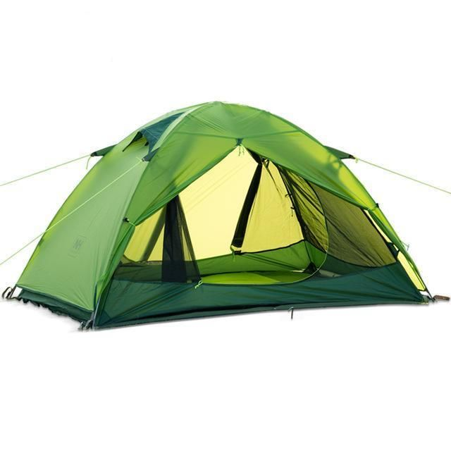 NEW 20D Double Layer Two Men 2 Person Backpacking Family