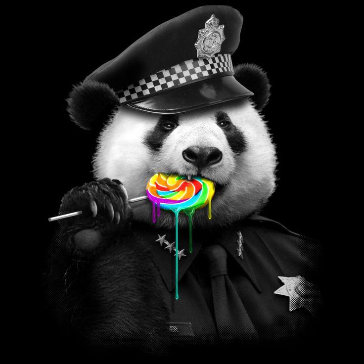Cute Cartoon Sloth Wallpaper Lollypop Cop Panda Panda Tattoo Panda Art