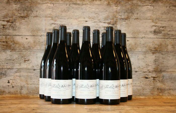 2010 Chateau D'hugues - Cotes Du Rhone Villages - 12 Flessen  Deze kwaliteitswijn werd speciaal voor u geselecteerd. Hij wordt door een traditionele wijnbouwer gemaakt met de vruchten van oude wijnstokken die met de hand worden geplukt en gesorteerd.15% VOL  EUR 85.00  Meer informatie