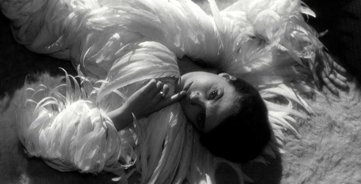 Last Year at Marienbad, which inspired the Marc Jacobs/Winona Ryder beauty campaign.