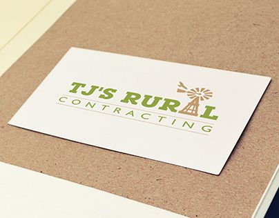 """Check out new work on my @Behance portfolio: """"Logo Design: TJ's Rural Contracting"""" http://be.net/gallery/43447817/Logo-Design-TJs-Rural-Contracting"""
