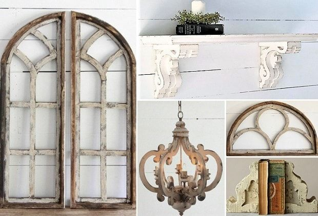 CYBER MONDAY SPECTACULAR!  NOW it's time to take advantage of today's event – Cyber Monday. This event is FULL (just like your Thanksgiving plate) of fantastic accent décor starring rustic charm, elegant details, and natural farm fresh fashion.  Add texture and dimension to your walls with our Colonial Window Frame; our French Farmhouse Corbel Shelf will display anything with style; and our French Country Chandelier, Arched Wooden Window Frames, and Distressed Magnesia Corbel Bookends…