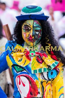 FASHION THEMED EVENTS - LIVING ARTWORK- PICASSO PEOPLE