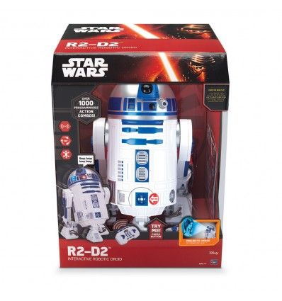 17 best ideas about interactive r2d2 on pinterest star - Grande figurine star wars ...