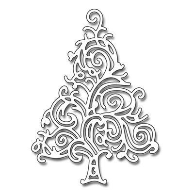 Penny Black - Die - Twirl Tree