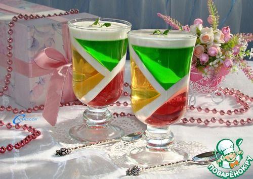 """""""Фруктовый калейдоскоп"""" - кулинарный рецепт"""