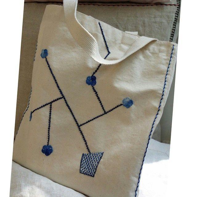 Bluerose Bag  #프랑스자수 #자수#장미#야생화자수 ##embroidery #frenchembroidery #rose#needlestudio #needlework #bag
