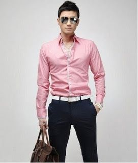 Mens Pink Dress Shirts Online | Is Shirt