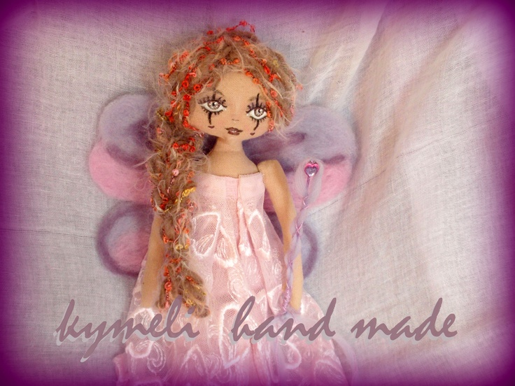 'Love Fairy' OOAK Art Doll by kymeli