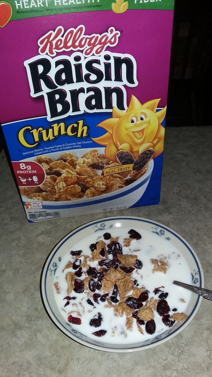 Kellogs raisin bran, free from @smiley360 this cereal is really delicious! I like the added flavor  of the raisin! Love this!!