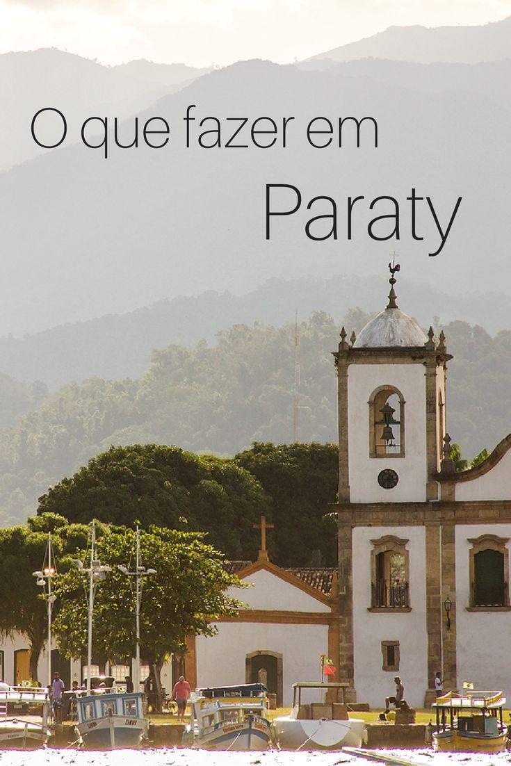 Dicas de atrações e passeios em Paraty