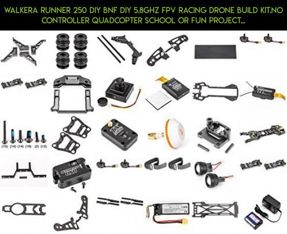 Walkera Runner 250 DIY BNF DIY 5.8Ghz FPV Racing Drone Build Kit.No Controller Quadcopter School or Fun Project! - FAST FROM Orlando, Florida USA! by HobbyFlip #camera #technology #gadgets #products #fpv #plans #bnf #racing #kit #drone #tech #parts #walkera #shopping