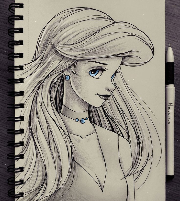 Portrait of Ariel by natalico.deviantart.com on @DeviantArt