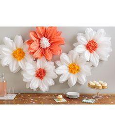 Martha Stewart Tissue Paper Pom-Pom Kit Daisy Lightnull