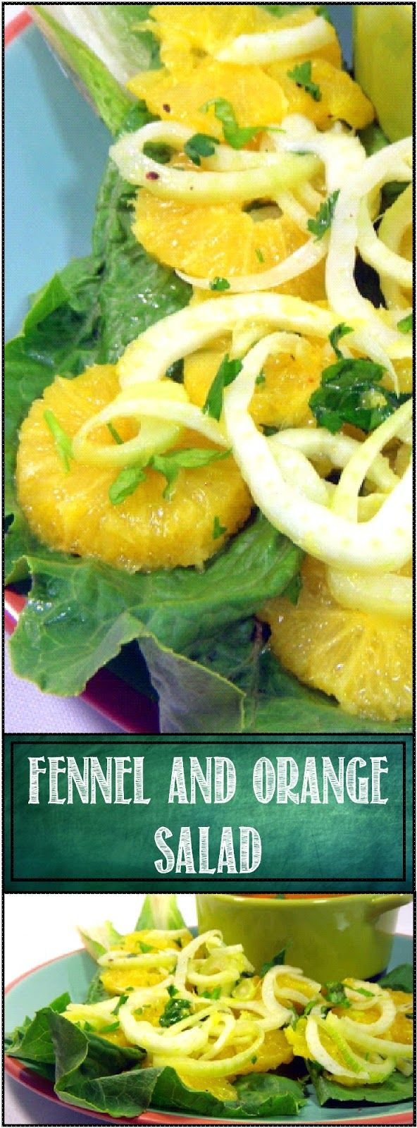 Fennel and Orange Salad (Insalata di Finocchi e Aranci)... Marinated in a vinaigrette with the interesting flavors of the Fennel, this is simple, easy and spectacular!