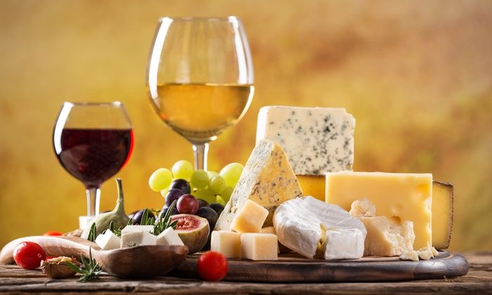 Sonoma Cheese Factory - Browns Valley: Wine-and-Cheese Tasting for Two or Four at Sonoma Cheese Factory (Up to 53% Off)