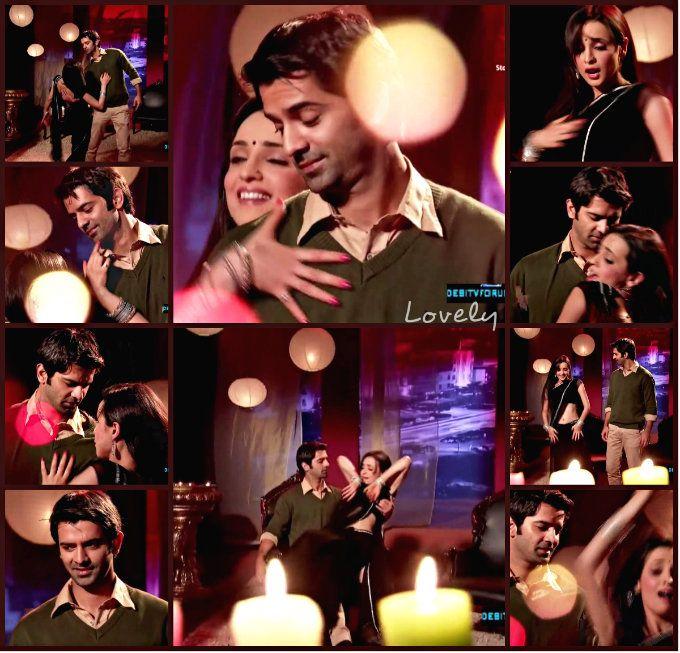 Khushi dancing at Arnavs bachelor party