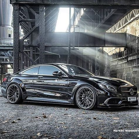 Mercedes S Class Coupe Widebody