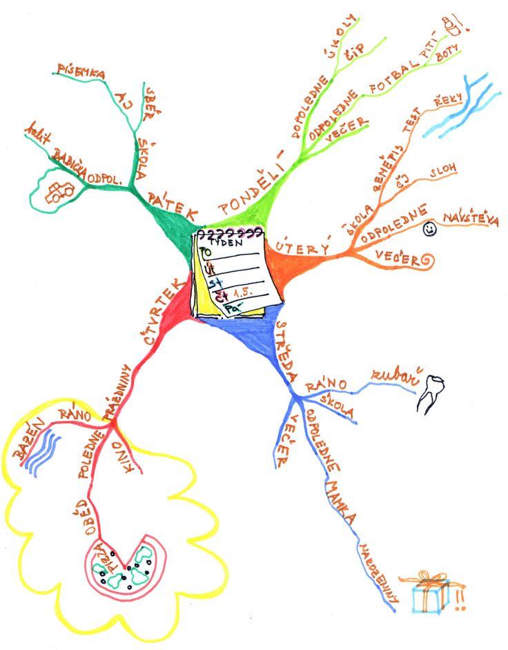 Výsledek obrázku pro myšlenkové mapy na 1. stupni