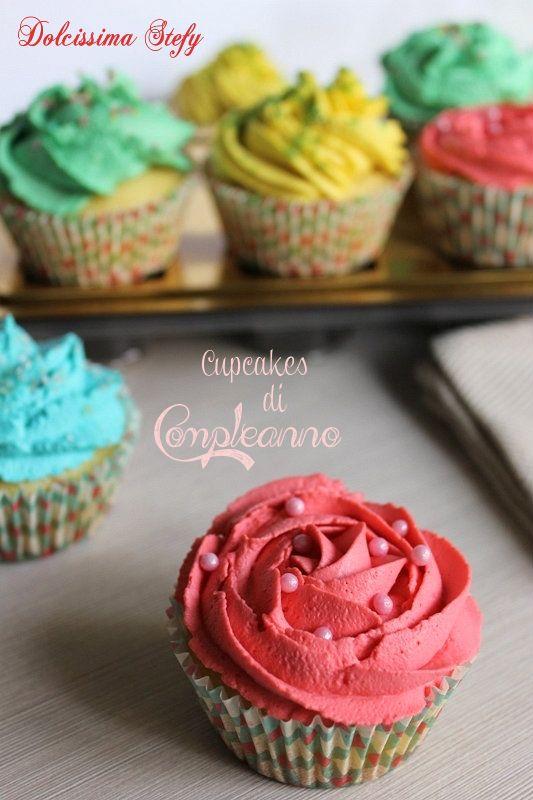 I Cupcakes di Compleanno sono golosissimi dolcetti mono porzione