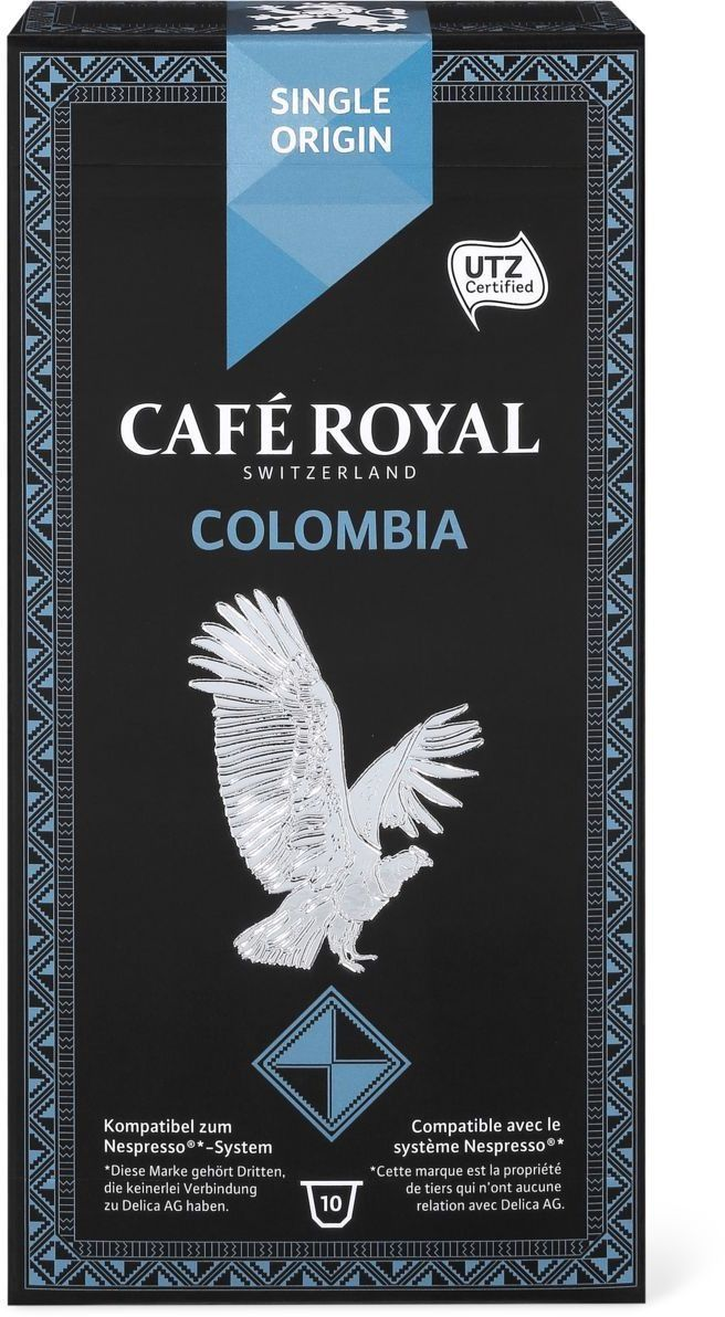 Café Royal Single Origin Colombia #Coffee #Packaging