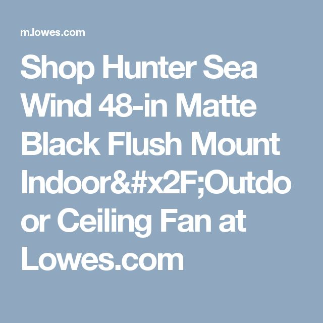 Hunter Ashbrook 48 Brushed Cocoa Ceiling Fan With Light: 25+ Best Ideas About Ceiling Fans At Lowes On Pinterest