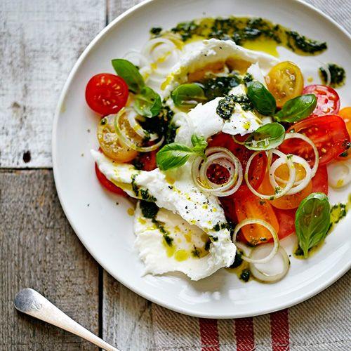 Jamie Oliver // Tomato Mozzarella Salad