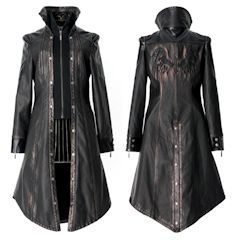 Steam Punk Rock Goth Gothic Jackets Vests and Trench Coats Page One - Liquiwork