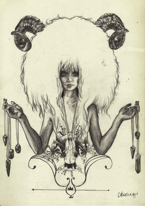 Crystal, shaman zodiac sign of Aries art print. For in depth info on Aries personality & characteristics go to http://www.buildingbeautifulsouls.com/zodiac-signs/western-zodiac/aries-star-sign-traits-personality-characteristics/