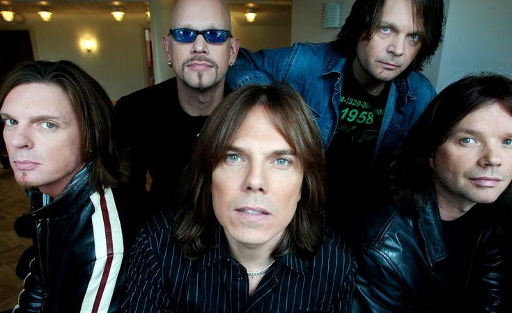 Europe: John Levén, Ian Haugland, Joey Tempest, Mic Michaeli, John Norum ♥