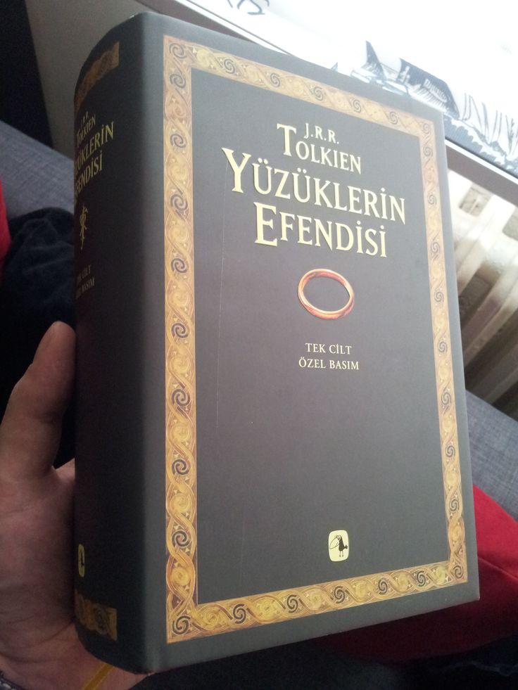 Yüzüklerin Efendisi -J.R.R. Tolkien  Tek Ciltlik Özel Basım