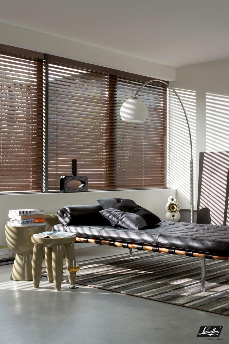 Aluminum slats for 25mm venetian shutters buy aluminium - Enhance The Design Of A Room With The Drama Of Light And Hunter Douglas Everwood Collection Of Wood Blinds