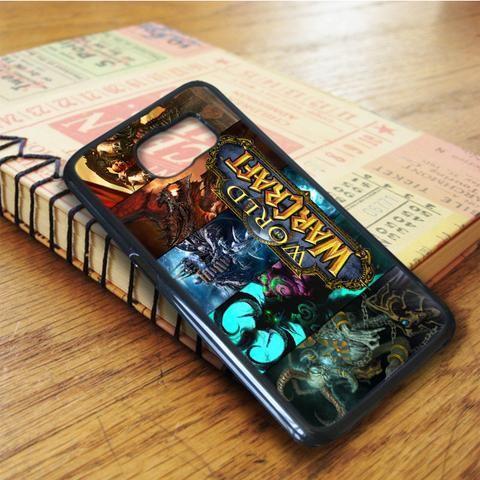 World Of Warcraft Warcraft Samsung Galaxy S6 Edge Case