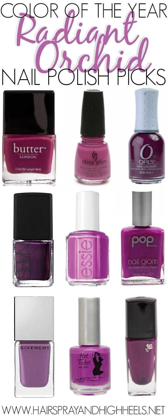 Pantone Color Of The Year Nail Polish Picks via www.hairsprayandhighheels.com