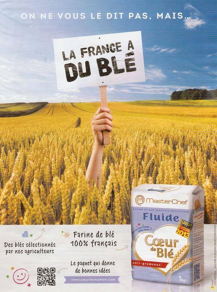 Sachez-le : la France a du blé ! #pub